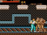 Final Fight Amiga The railway tracks