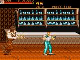 Final Fight Amiga In a restaurant