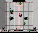 Speedball NES Second before goal.