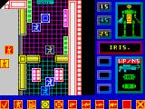 Solar Fire ZX Spectrum Players command people and robots.
