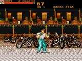 Final Fight Amiga Some bikie gang left their motorcycles here