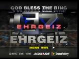Ehrgeiz: God Bless the Ring PlayStation Title screen