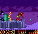 Shantae Game Boy Color Using one of combat items