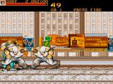 Final Fight Amiga Great. Another company who thinks it's their best interest to put their branding in here