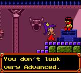 Shantae Game Boy Color Play Shantae on GameBoy Advance to get some secret stuff. In my case, I get none