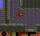 Shantae Game Boy Color Shantae turned into a spider