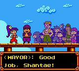 Shantae Game Boy Color The town is saved! Or is it?