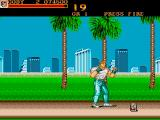 Final Fight Amiga Nice view of the beach