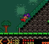 Shantae Game Boy Color The slopes are steep