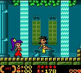Shantae Game Boy Color Bath house (a free healing point). Hello, sweetie!