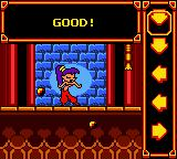 Shantae Game Boy Color Dance parlor minigame