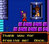 Shantae Game Boy Color Freed girls teach Shantae new dances