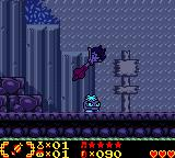 Shantae Game Boy Color It's constantly raining in this area