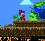 Shantae Game Boy Color In the strange lands...