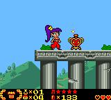 Shantae Game Boy Color A heart container detected