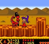 Shantae Game Boy Color In the desert