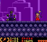 Shantae Game Boy Color Bizarre creatures...
