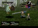 Valkyrie Profile PlayStation An early battle against a harpy. Arngrim is getting ready