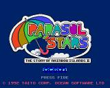 Parasol Stars: The Story of Bubble Bobble III Amiga Parasol Stars: The Story of Rainbow Islands II