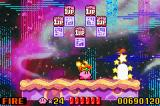 Kirby: Nightmare in Dreamland Game Boy Advance Look, 5 lives, Kirby is lucky