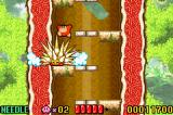 Kirby: Nightmare in Dreamland Game Boy Advance Kirby make a deadly trap to defeat his foes