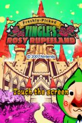 Freshly-Picked Tingle's Rosy Rupeeland Nintendo DS Title Screen