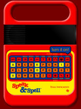 Speak & Spell Online Browser Press 'On' to turn it on.