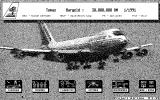 Project Airline Atari ST The main game menu