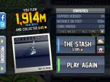 Jetpack Joyride iPad Your stats for the run