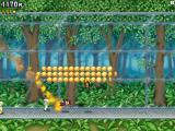Jetpack Joyride iPad Forest level. Lots of coins, but Barry is dead...