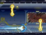 "Jetpack Joyride iPad Barry in a ""head start""; he rushes through a part of the stage automatically"