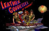 Leather Goddesses of Phobos! 2: Gas Pump Girls Meet the Pulsating Inconvenience from Planet X DOS Title screen (MCGA/VGA)