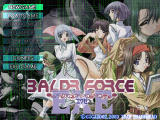 Baldr Force EXE Windows Title screen