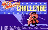 Mania Challenge Atari 7800 Title screen