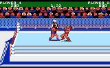 Mania Challenge Atari 7800 A fight in progress