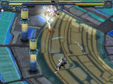 Baldr Sky Dive1: Lost Memory Windows Ranged rocket attack. High-tech battle