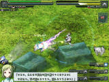 Baldr Sky Dive1: Lost Memory Windows Dialogue during a battle