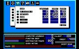 Cruise Chaser Blassty PC-88 Main in-game menu