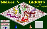 Snakes & Ladders Atari ST Time to start