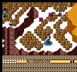 Märchen Veil NES Mountain path with a teleporting boss