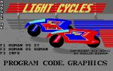 Light Cycles Atari ST Title screen