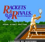 Rackets & Rivals NES Title Screen