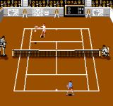 Rackets & Rivals NES On the court