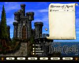 Return to Dark Castle Macintosh Main menu