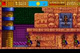 Shape Shifter TurboGrafx CD Rescuing a princess? How about meeting a psychopath who will turn this whole structure into a boss in a few seconds?