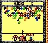 Bust-A-Move Millennium Game Boy Color Playing as Banebou in Endless Mode.