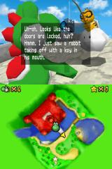 Super Mario 64 DS Nintendo DS The cameraman, Lekitu, will give you some helpful pointers during your journey.