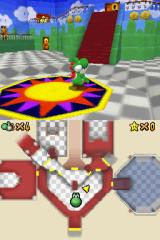 Super Mario 64 DS Nintendo DS The castle interior has an interesting choice of decor.