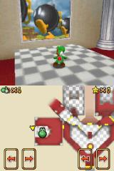 Super Mario 64 DS Nintendo DS Jump into the picture to go to another level.