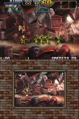 Metal Slug 7 Nintendo DS The soldiers are gettin' away